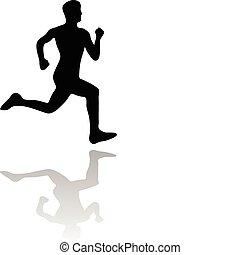 איש רץ