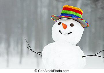 איש שלג, מצחיק, חורף