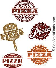 אכלן, grpahics, פיצה