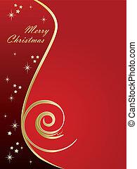 אלגנטי, חג המולד, רקע, אדום