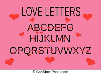 אלפבית, וקטור, אהוב
