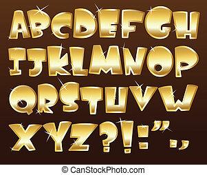 אלפבית, זהב