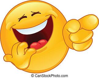 אמוטיכון, לצחוק, להצביע
