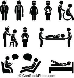 אמון חולה, בית חולים, חולה, רופא