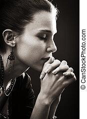 אמונה, אישה, -, תפילה, דת