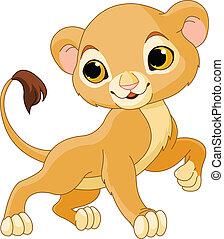 אמיץ, גור, אריה