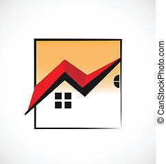 אמיתי, בתים, הסגר, רכוש, לוגו