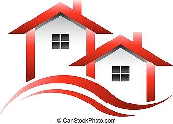 אמיתי, בתים, רכוש, לוגו