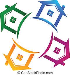 אמיתי, בתים, 4, רכוש, לוגו