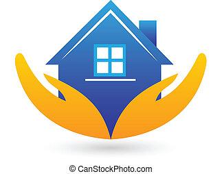 אמיתי, דיר, רכוש, לוגו