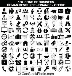 אמצעי, קבע, ממן, איקונים של משרד, עסק, בן אנוש