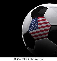 אמריקאי, כדור של כדורגל