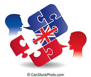 אנגלית, שיעור, דיאלוג