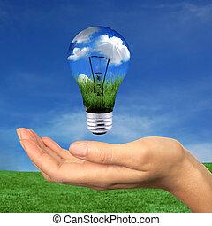 אנרגיה, בתוך, הגע, ניתן לחידוש