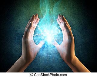 אנרגיה, ידיים