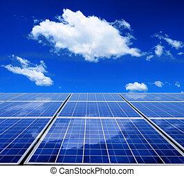 אנרגיה, לוח סולרי