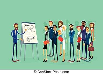 אנשים של עסק, רפרף טבלה, ממן, קבץ, אנשי עסק, הצגה