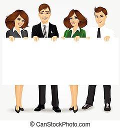 אנשי עסק, טופס, להחזיק, לוח מודעות
