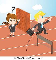 אנשי עסק, להתחרות