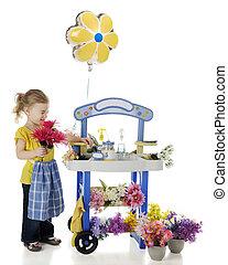 אף, פרחים, שלי, דגדג