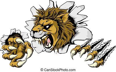 אריה, לנפץ, out