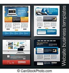 אתר אינטרנט, אקסקלוסיבי, עסק, דפוסית