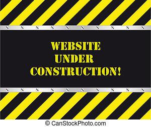 אתר אינטרנט, בניה, מתחת