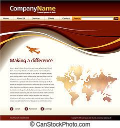 אתר אינטרנט, וקטור, דפוסית