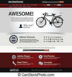 אתר אינטרנט, רשת מעצבת, דפוסית, יסוד