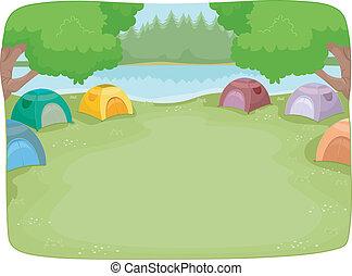 אתר של מחנה