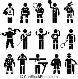 בגדים של ספורט, בגדי ספורט, ליבוש