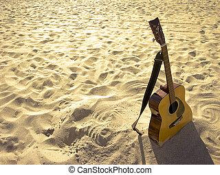 בהיר, גיטרה, אקוסטי, החף