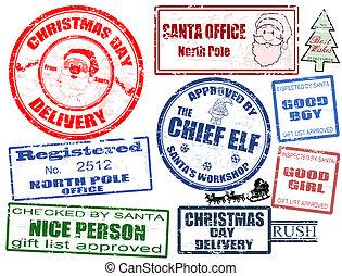 בולים, קבע, חג המולד