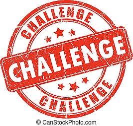 בול של גומי, אתגר