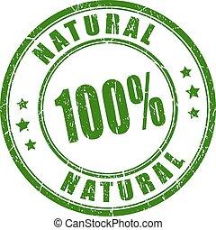 בול של גומי, 100, טבעי