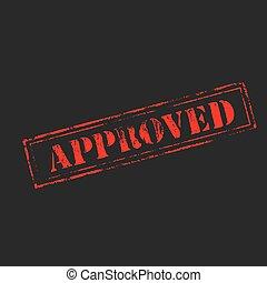 בול של גומי, 'approved'