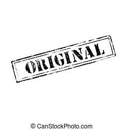 בול של גומי, 'original'