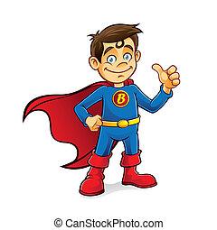 בחור, סופרגיבור