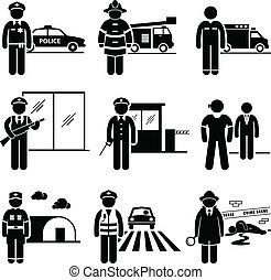 בטיחות, בטחון, עבודות, ציבור
