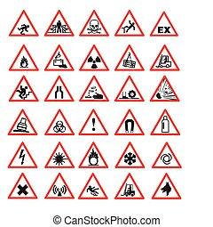 בטיחות, סימנים