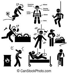 בטיחות, תעסוקתי, עבודה, בריאות
