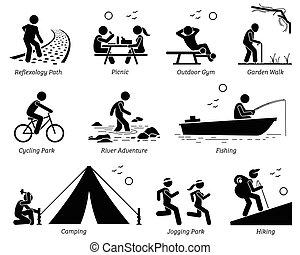 בידורי, סגנון חיים, בידור בחוץ, activities.