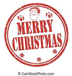 ביל, חתום, או, חג המולד שמח