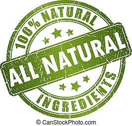 ביל, טבעי, מרכיבים