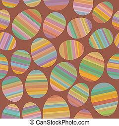 ביצה של חג ההפסחה, seamless, תבנית