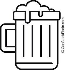 בירה, סיגנון, התמכרות, תאר, איקון