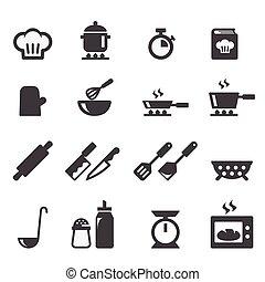 בישול, איקון