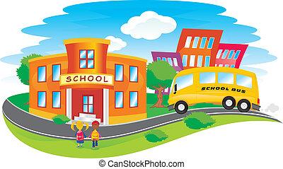 בית ספר, השקע