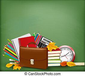 בית ספר, רקע, הספקות