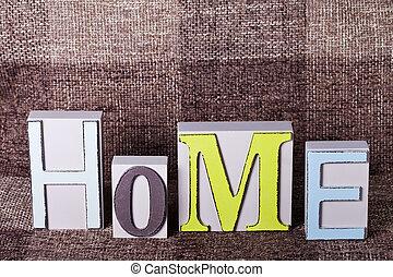 בית, קשט, מילה, מכתבים